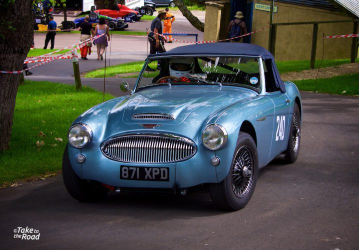 An Austin Healey 2000 Prescott Speed Hill Climb 2015