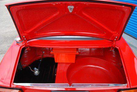 1966 Alfa Romeo Sprint GT boot