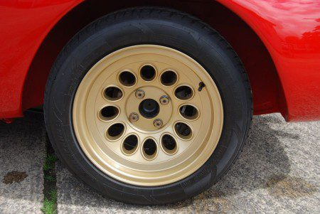 1966 Alfa Romeo Sprint GT GTAm Gold wheels