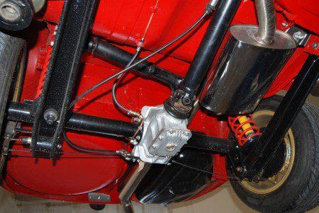 1966 Alfa Romeo Sprint GT rear suspension