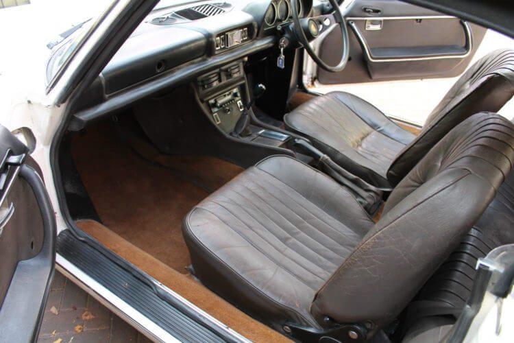 1973 Peugeot 504 Cabriolet interior