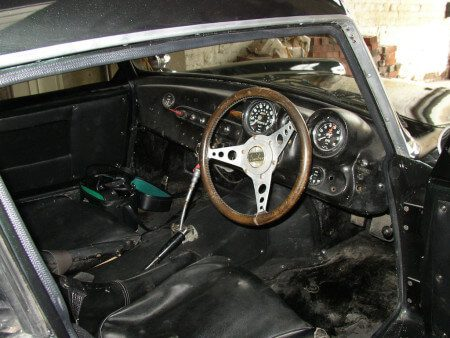 1963 Reliant Sabre Six GT interior