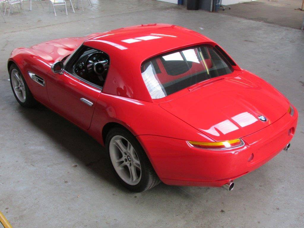 Auction Watch Rare 2001 Bmw Z8 One Of 77 In Red