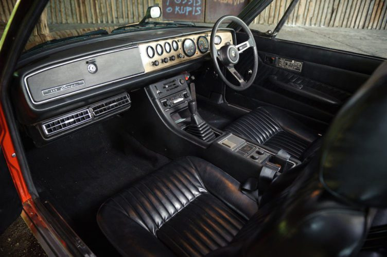 1975 Isuzu 117 Coupe interior