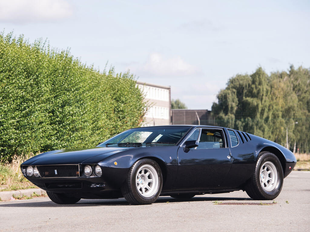 auction watch rm sotheby 39 s prototype 1969 de tomaso mangusta. Black Bedroom Furniture Sets. Home Design Ideas