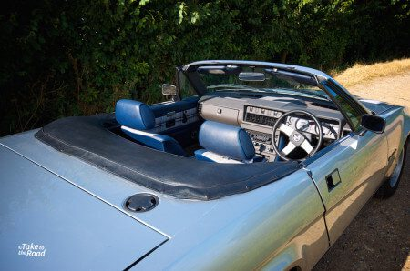 1981 Triumph TR7 Convertible interior