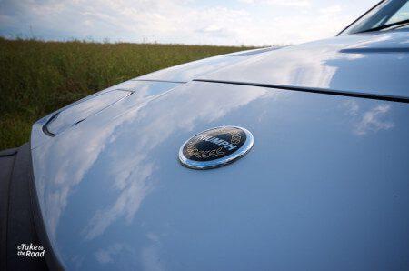 1981 Triumph TR7 Convertible bonnet badge