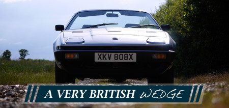 A very British Wedge - The Triumph TR7
