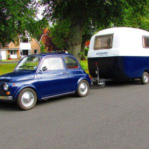 Auction Watch: Cheeky just got more fun - Fiat 500 plus Graziella 300 caravan
