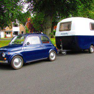 Auction Watch: Cheeky just got more fun - Fiat 500 plus Graziella 300 caravan