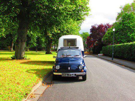 Auction Watch: Cheeky just got more fun – Fiat 500 plus Graziella 300 caravan