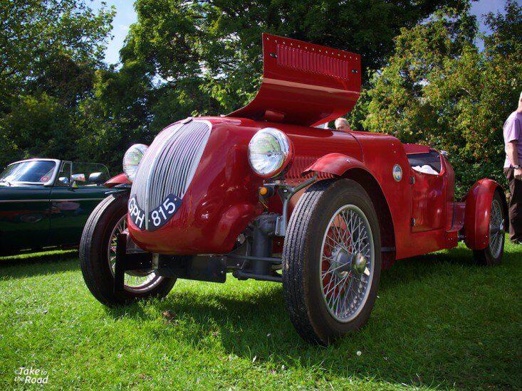 1938 Fiat 508C St Christophers Classic Car Show 2015