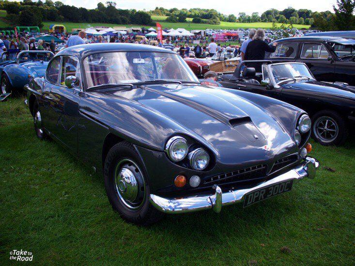 Jensen C-V8 St Christophers Classic Car Show 2015