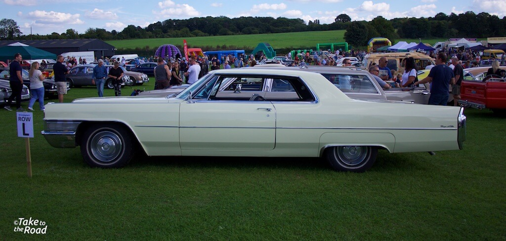 Cadillac Coupe DeVille St Christophers Classic Car Show 2015