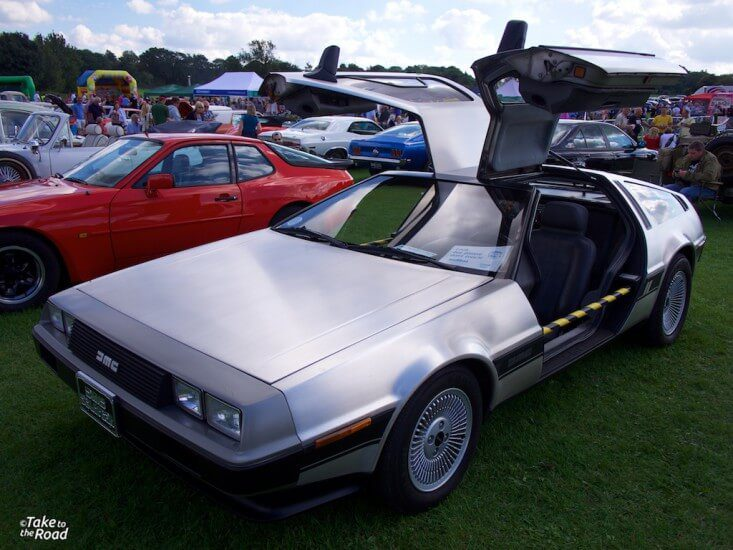 De Lorean St Christophers Classic Car Show 2015