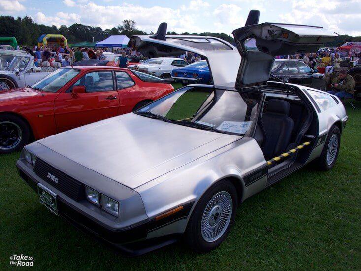 De Lorean St Christophers Classic Car Show 2015
