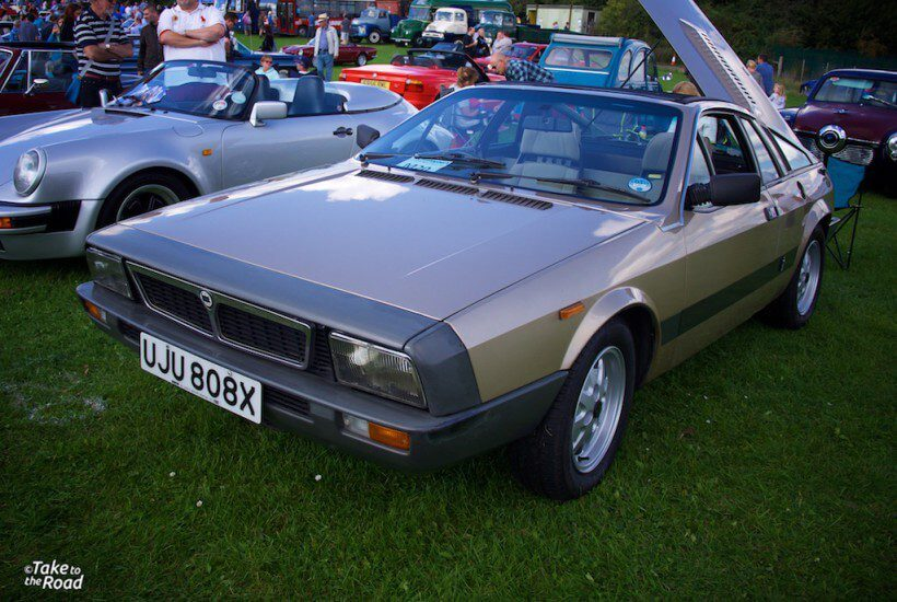 Lancia Beta Montecarlo St Christophers Classic Car Show 2015