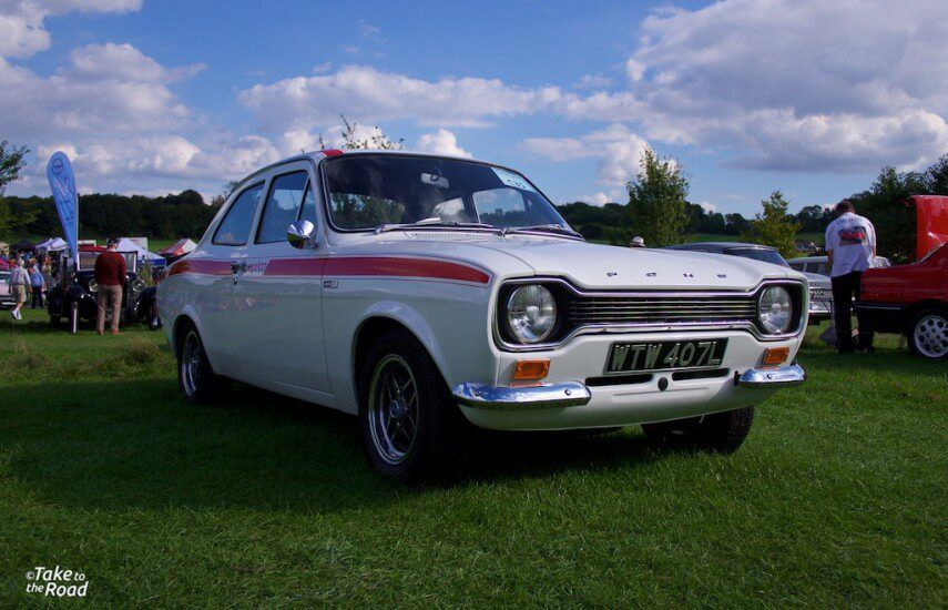 Ford Escort Mexico St Christophers Classic Car Show 2015