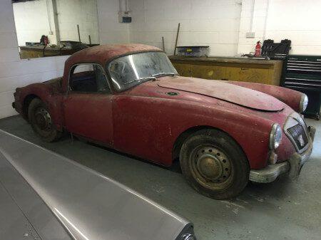 1960 MG MGA Coupe