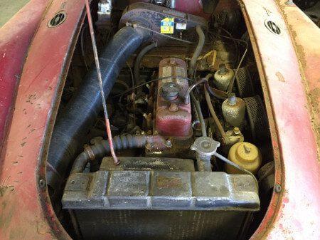 1960 MG MGA Coupe engine