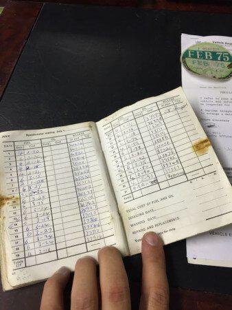 MG MGA Shell Service Book
