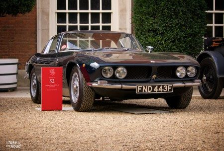 A look back at the 2014 Concours of Elegance I968 Iso Grifo