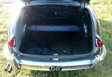 1957 Jaguar Mk1 boot
