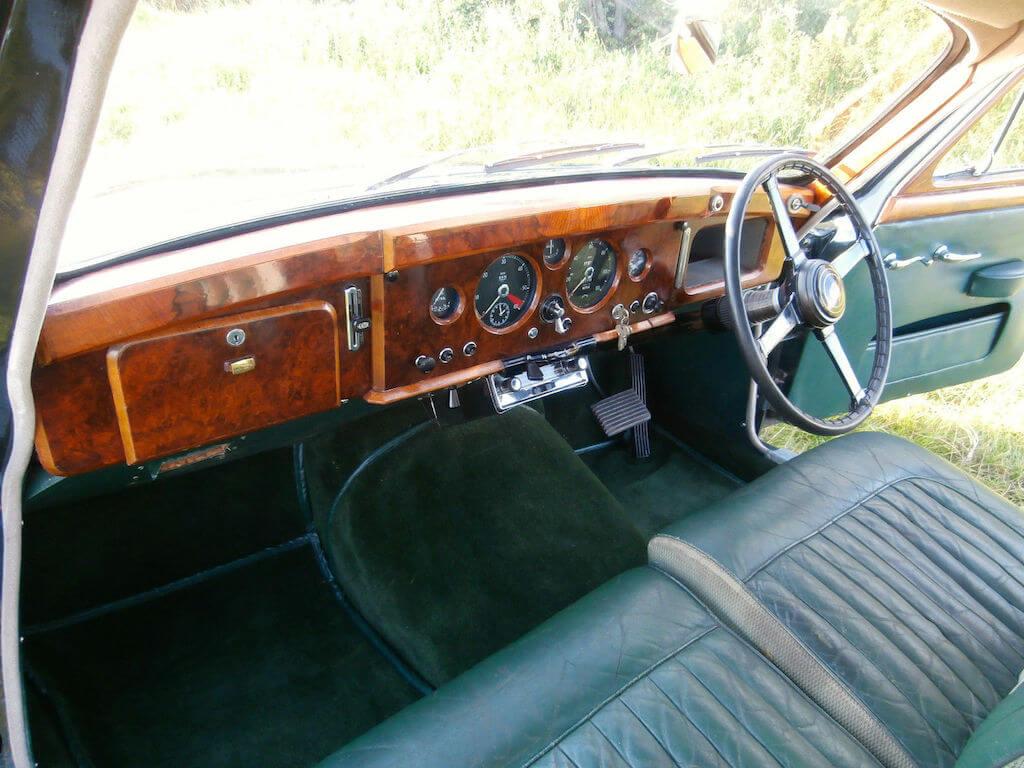 ebay find: lovely patina jaguar mk1 3.4 automatic