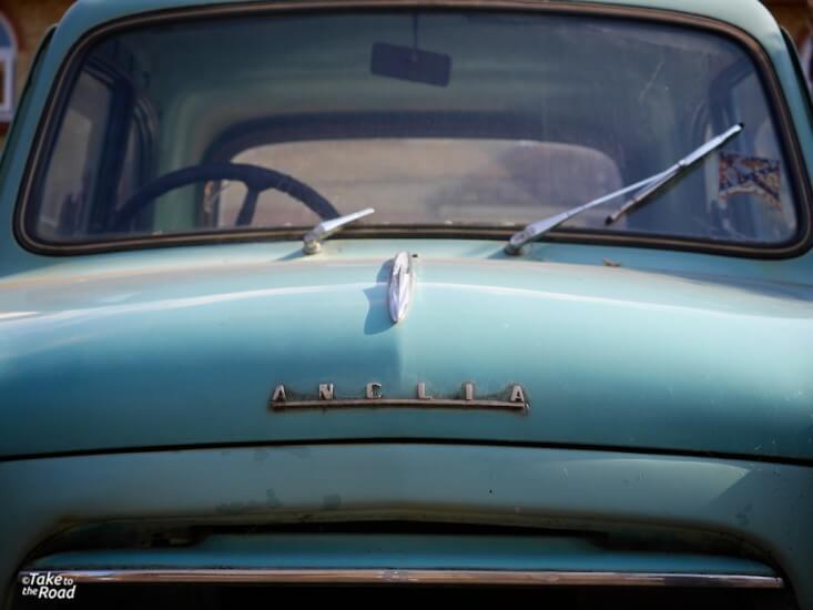 1957 Ford Anglia abandoned classic cars