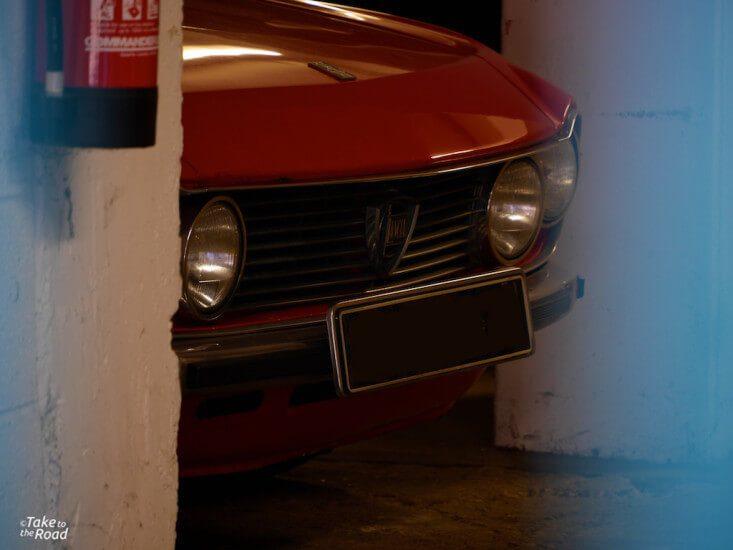 1972 Lancia Fulvia abandoned classic cars