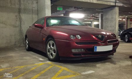 Alfa Romeo GTV V6 abandoned classic cars