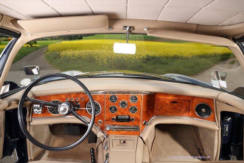 1958 Facel Vega Excellence EX 1 interior