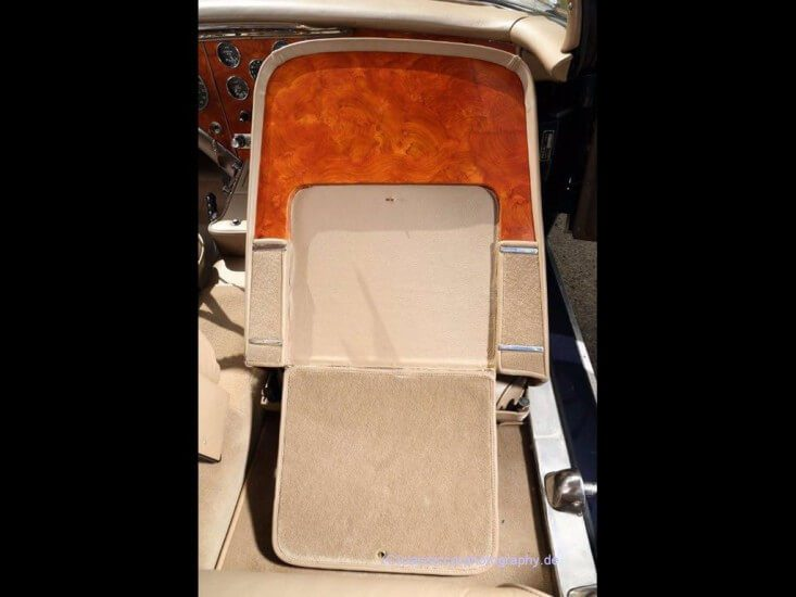 1958 Facel Vega Excellence EX 1 front seat