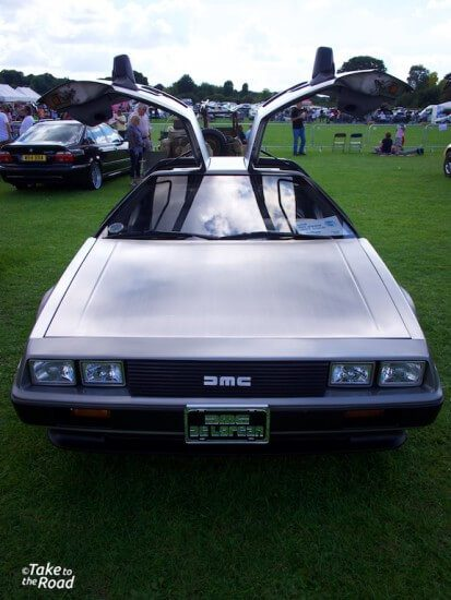 Take to the Road Back to the Future De Lorean feature