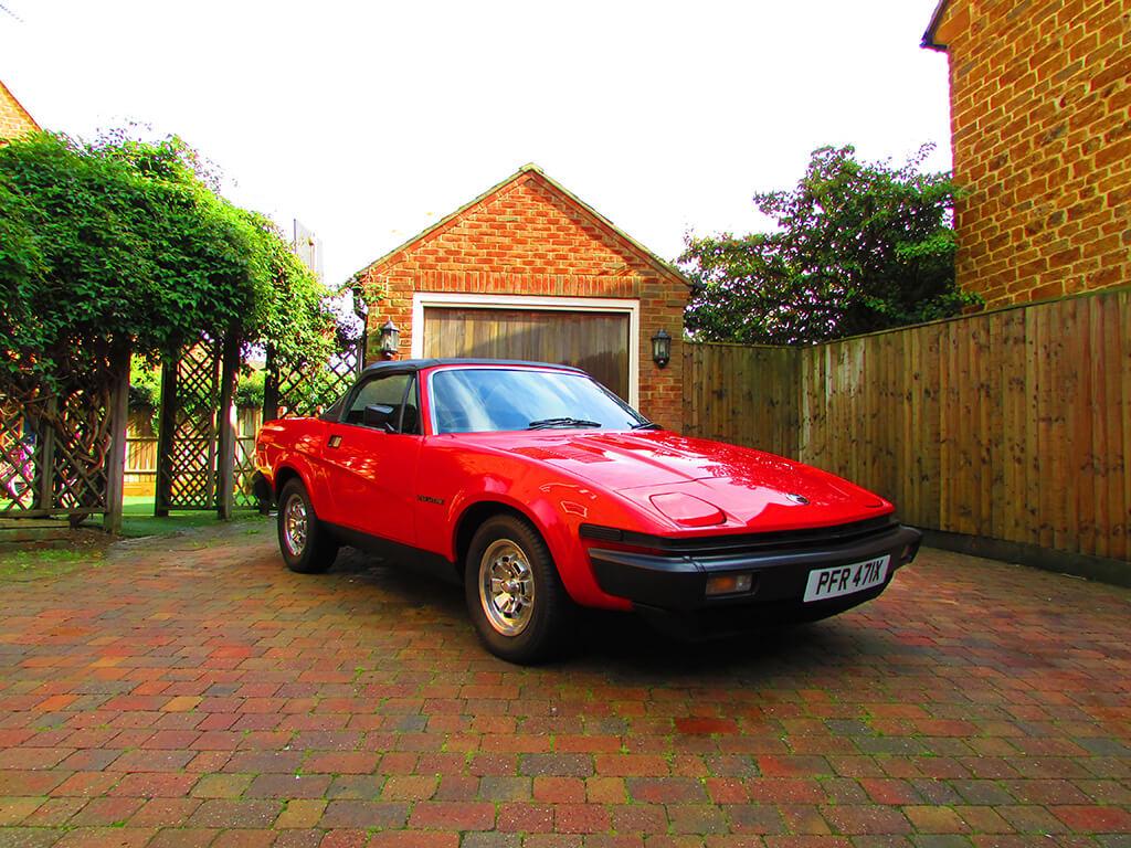 Auction Watch Monza Red 1982 Triumph Tr7