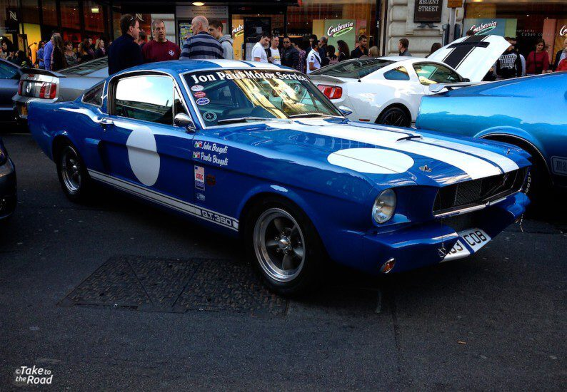 Take to the Road Regent Street Motor Show Highlights 2014