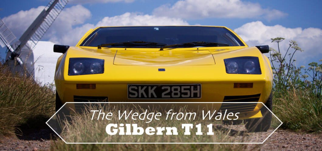 1971 Gilbern T11 - The Wedge from Wales
