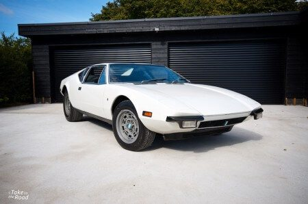 De Tomaso Pantera Take to the Road Review