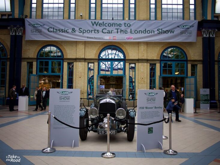 Take to the Road highlights of the Classic and Sports Car The London Show Alexandra Palace 2015
