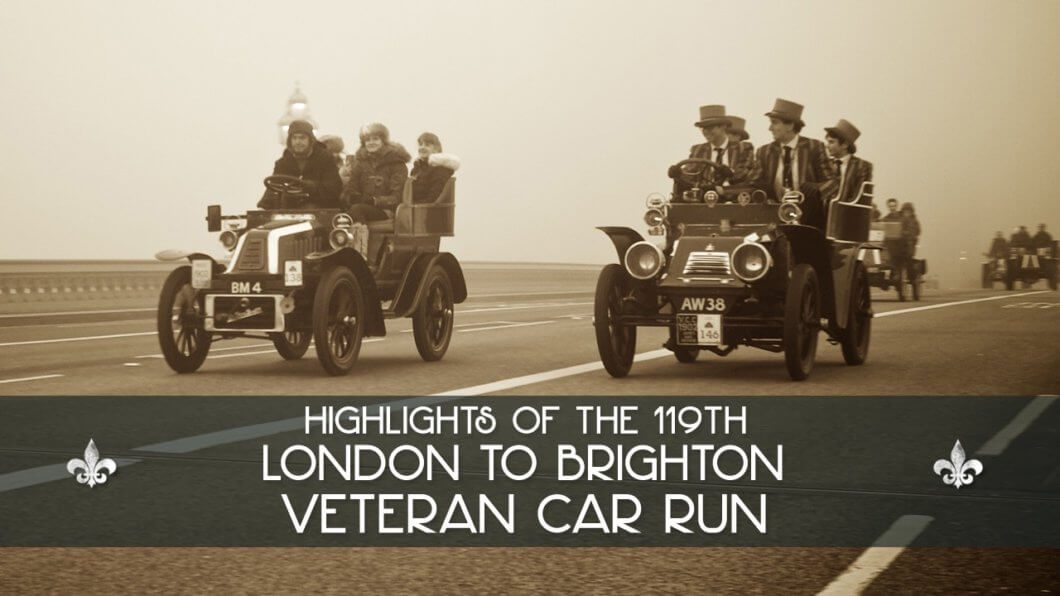 119th London to Brighton Veteran Car Run 2015 Highlights
