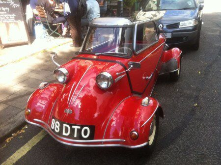 Take to the Road Feature Messerschmitt TG500 Tiger