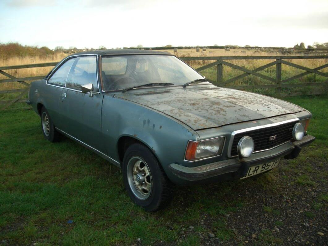 Take to the Road Feature 1976 Opel Commodore GS 2800
