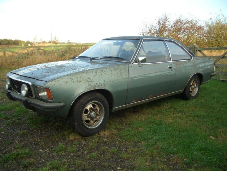 Take to the Road Feature Opel Commodore GS 2800