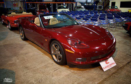 Take to the Road Feature Chevrolet Corvette C6