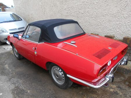 Take to the Road Fiat 850 Spider Feature