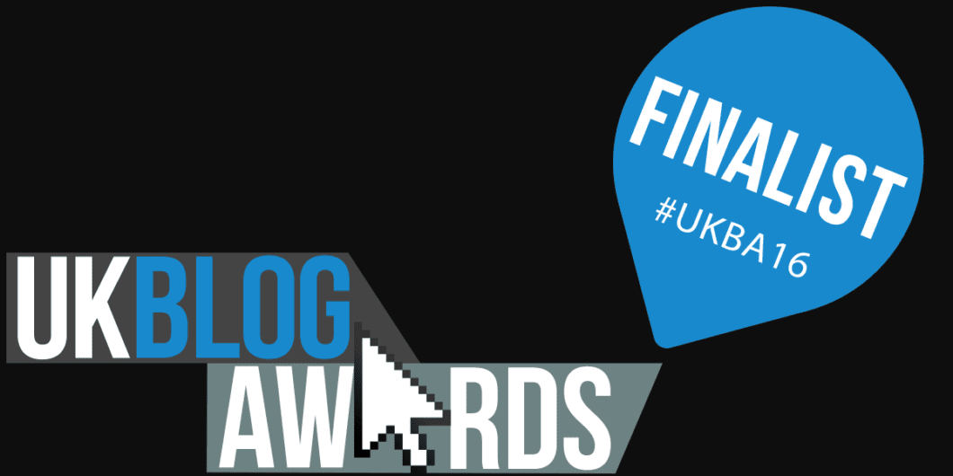 Take to the Road UKBlog Awards Finalist
