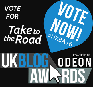 Vote for Take to the Road UKBlog Awards