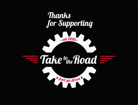Thanks for supporting Take to the Road