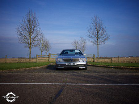 Take to the Road Video Feature Mercedes 500SL