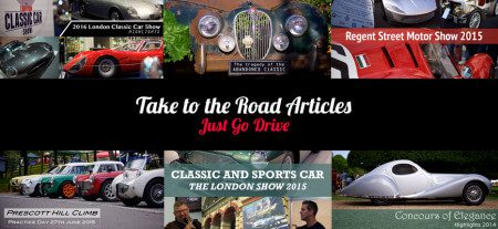Take to the Road Classic Car Articles